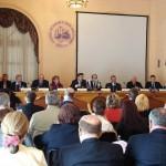 Открывает Деловую миссию в Палермо В.П.Ермаков, Генеральный директор Российского агентства поддержки малого и среднего бизнеса