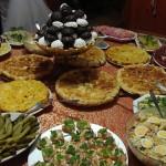 В этот вечер торжествовала не только русская музыка, но и русская кухня: несколько видов салата «Оливье», который в Италии называют «русским», селедка под шубой, грибной салат
