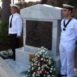 На церемонии открытия мемориальной доски в честь русских моряков присутствовали и наши соотечественники из России, Украины и Белоруссии