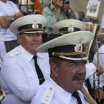 Российские моряки удивили зрителей обширным репертуаром, выходящим за рамки военных маршей и покорили оригинальным исполнением всемирно известных произведений в джазовой обработке