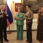 Генконсул России пожелал, «чтобы на юге Италии было как можно больше друзей, которые полюбили бы Россию так, как он полюбил Италию»