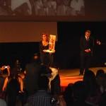 Церемония закрытия Таорминского кинофестиваля, прошла в весьма неформальной обстановке и вряд ли вписывалась в стандартный протокол подобных мероприятий.