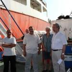 Адвокат российских моряков, предоставленный Международной федерацией транспортников подали на компанию-владельца сухогруза исковые заявления в суд г. Сиракузы о взыскании невыплаченной заработной платы.