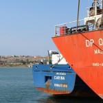 Судно, осуществляющее перевозки под удобным флагом мало кому известного государства Сент-Винсент и Гренадины, бросило якорь в порту сицилийского города в ноябре 2011