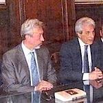 Ричевуто был в Москве на встрече, организованной Фондом Андрея Первозванного, и был награждён почётным знаком