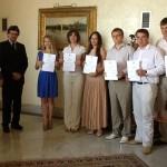 Все участники с сертификатами об окончании Летней школы