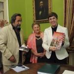 Мэр г. Корлеоне Леа Савона приветствует Вердиевское общество