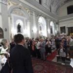 Жители Корлеоне пришли послушать выступление российских оперных певцов
