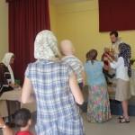 Радостно было за многих прихожан, которые после четырехмесячного перерыва между службами имели возможность исповедоваться и причаститься Святых Христовых Таин