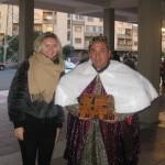 В торжествах приняли участие активисты культурных и фольклорных ассоциаций, прихожане церкви в Либрино, а также приглашенные из Палермо представители Генерального консульства России