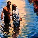 Все собравшиеся 19 января на праздник Богоявления, с нетерпением ждали когда батюшка окропит всех Крещенской водой