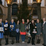 Во дворце Провинции Палермо и в Палермо тепло, но Новый год ощущается