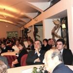 На вечере присутствовали мэры ближайших городов, ответственные работники государственных учреждений, представители университета, Центра исследований и повышения квалификации ЧЕРИЗДИ, музеев и театров, деловых кругов