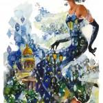 Миша является официальным художником Венского Бала в Москве, Kentucky Derby в США, Всероссийских конных игр в Санкт-Петербурге и автором логотипа Фестиваля «Русская весна в Палермо»
