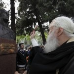 © Фото: Габриеле Лентини // Освящение бюста Федора Ушакова, установленного в сицилийском городе Мессина