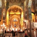 © Фото: Елена Яценко // В воскресенье, 21 апреля православные священники провели литергию в Палермо