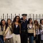 © Фото: А. Наниа // Студенты Мессинского университета с моряками БДК «Азов»