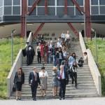 © Фото: А. Наниа // Встреча делегации ФАП со студентами
