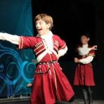 © Юрий Тагунов // Выступив с истинно кавказским темпераментом, ничуть не уступающим итальянскому, юные танцоры вызвали бурю восторга и аплодисментов у аудитории