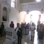 Храм был нарядно украшен, на центральном аналое находилась праздничная икона, царило приподнятое настроение. На следующий день в воскресенье состоялся очередной молебен с участием 12 человек