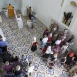 © Фото: Габриеле Лентини | В этот день открыло двери здание бывшей католической церкви Святого мученика Александра, переданное мэрией в распоряжение русской православной общины.