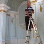 ... провести генеральную уборку нижнего помещения храма