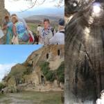 © Фото: Наталия Курчинская-Грассо // Наш путь лежал в глубь острова и его прошлое. Недалеко от г. Алия (провинция Палермо) находятся Пещеры Гурфа (Le grotte della Gurfa), созданные человеком еще в бронзовом веке.