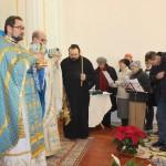 Недавно образовавшийся церковный хор порадовал прихожан своим песнопением и рождественскими колядками