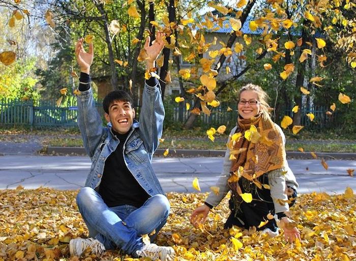 Бывшие студенты Мессинского университета Магдалена и Сегет Массимильяно Романо